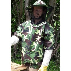 Vareuse camouflage apiculture